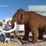 הגיעו מעידן הקרח: אורחים בתערוכה